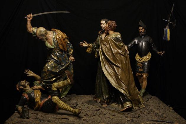 Resultado de imagen de pasos del prendimiento de jesús