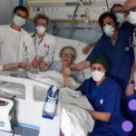 2020-03-29 – Alma (95 años), recuperada del Coronavirus